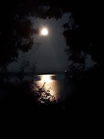 View at moonlight