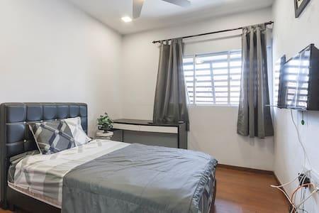 The Grey Leopard - Singapura - Rumah