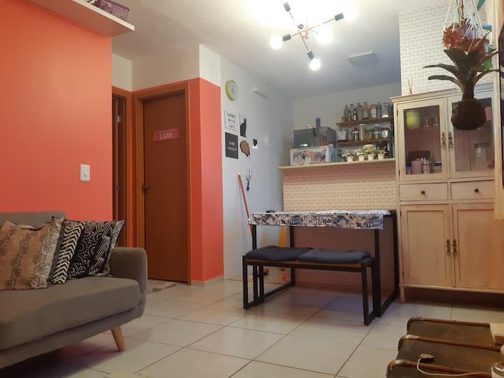Apartamento aconchegante próximo a UFMS