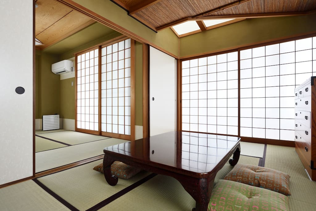 Tatami is a Japanese tradition