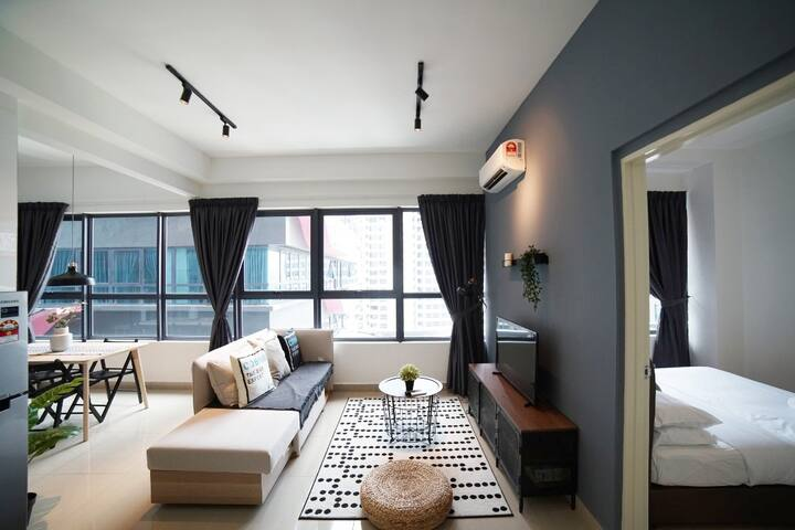 KLCC•One Bedroom@Arte Plus✡  Living Room