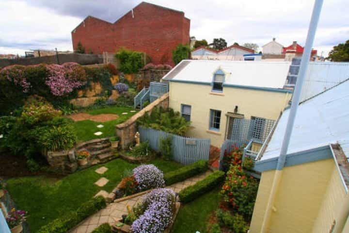 A lovely hidden oasis in the middle of Hobart.