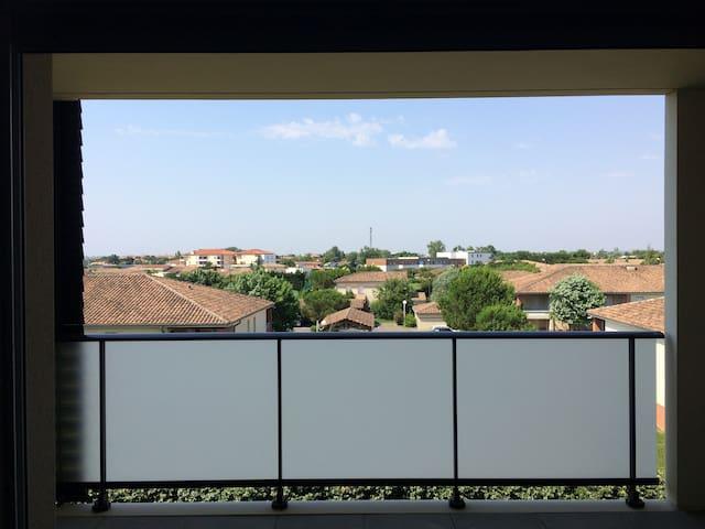 Bel appartement avec terrasse - Toulouse - Apartamento