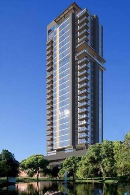 Torre donde se ubica el departamento