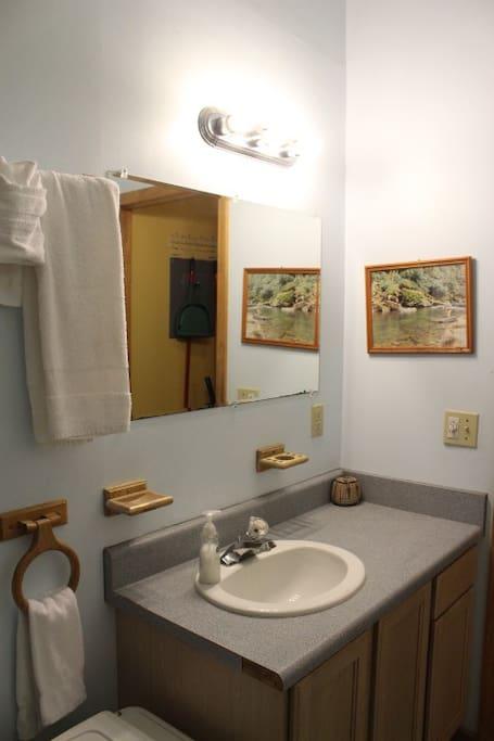 Cabin #1 - Bathroom