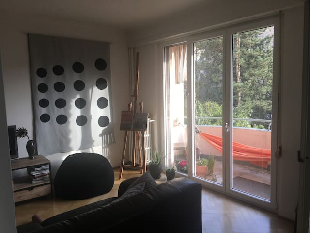 Large room in beautiful family apartment.
