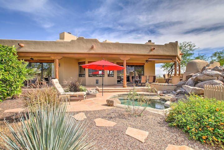 Superb Cave Creek House w/ Patio & Mountain Views!