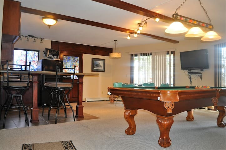 Lincoln Park Place w/ Pool Table & Private Beach - Glenbrook - Haus