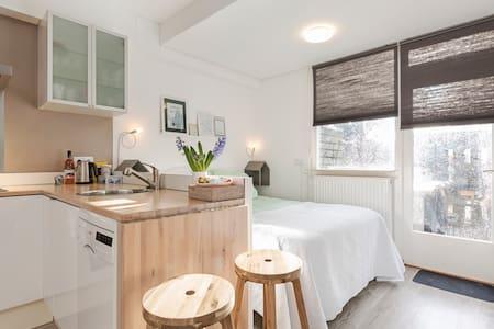 Studio met keuken op de begane grond in Vianen.