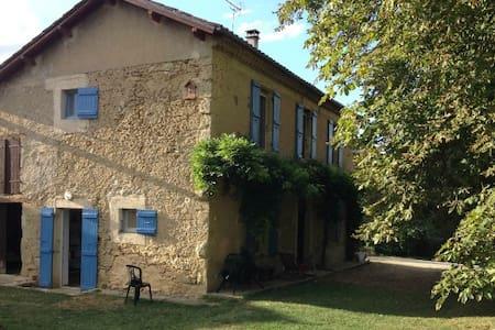 Maison gasconne à St Puy - Huis