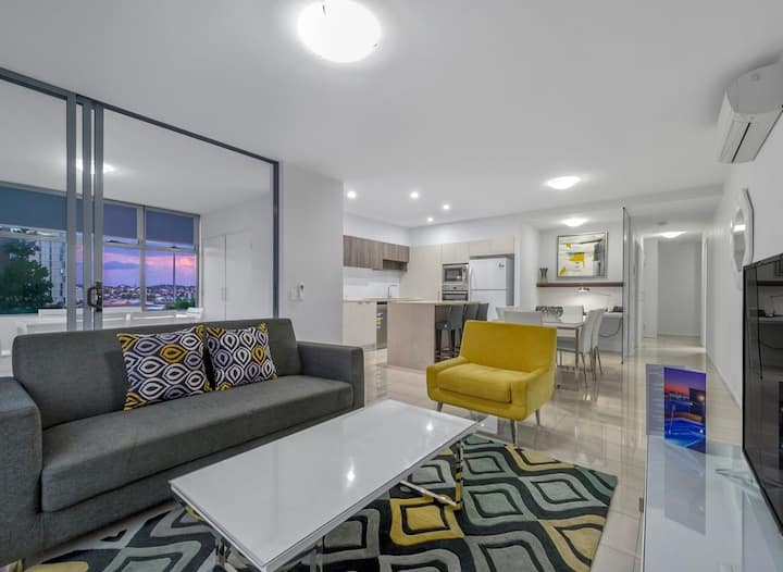Position Perfect Woolloongabba☆Roof Top Pool☆WIFI