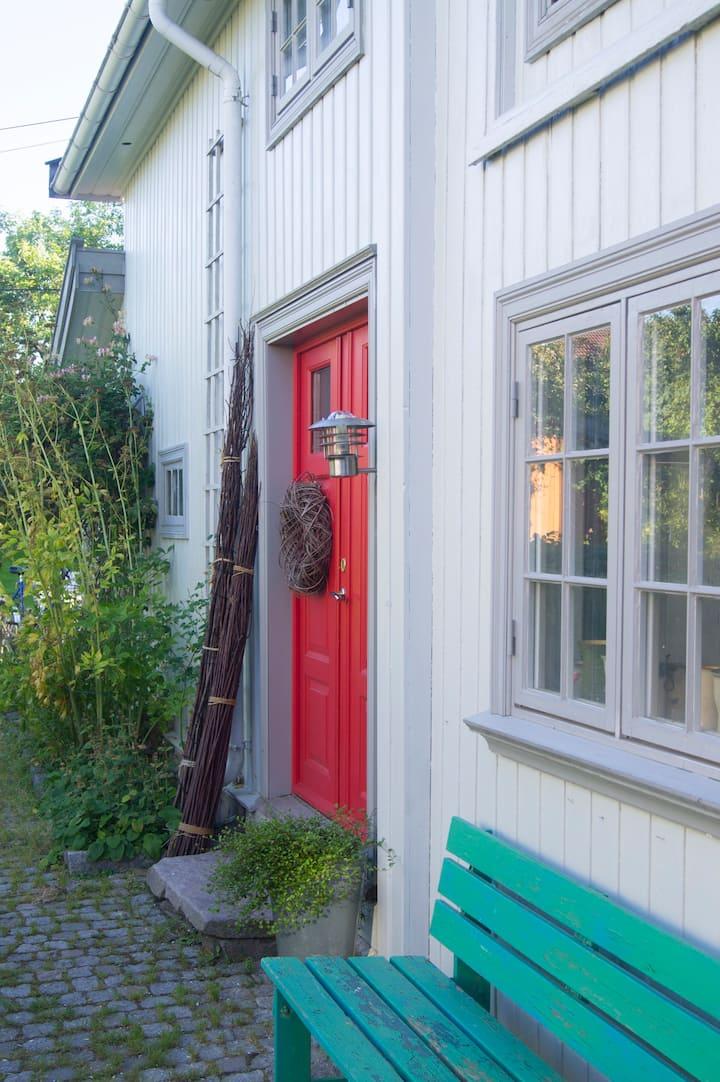 Unik leilighet midt i Gamlebyen i Kongsberg