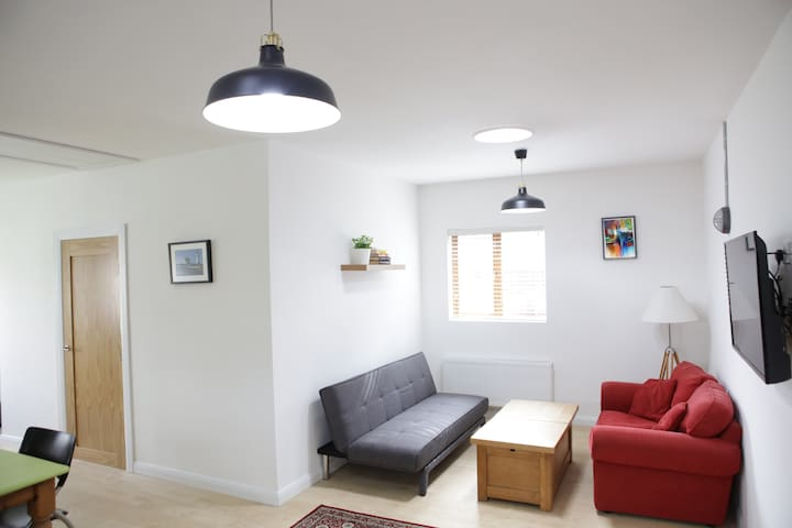 Spacious modern one bedroom apartment
