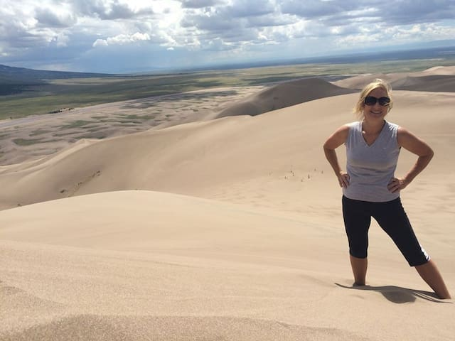 See the Great Sand Dunes National Park and Preserve.