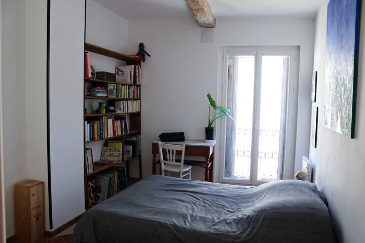 Maison d'artiste au cœur des Pyrénées-Orientales.