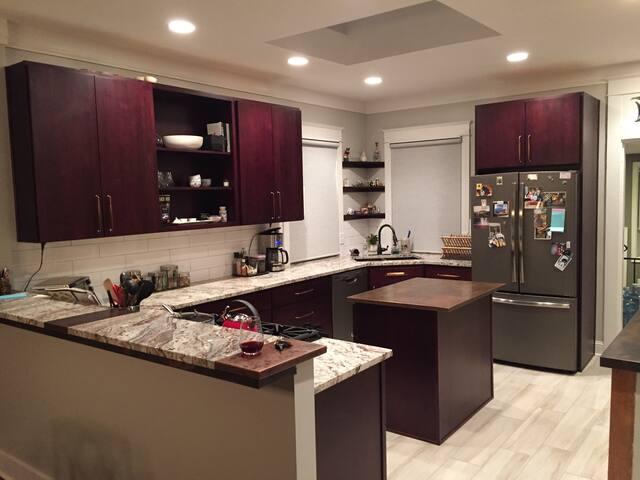 Private suite in West wash park - Denver - Huis
