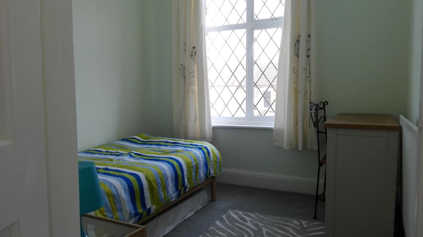 Bright single room, great links to central London - London - House