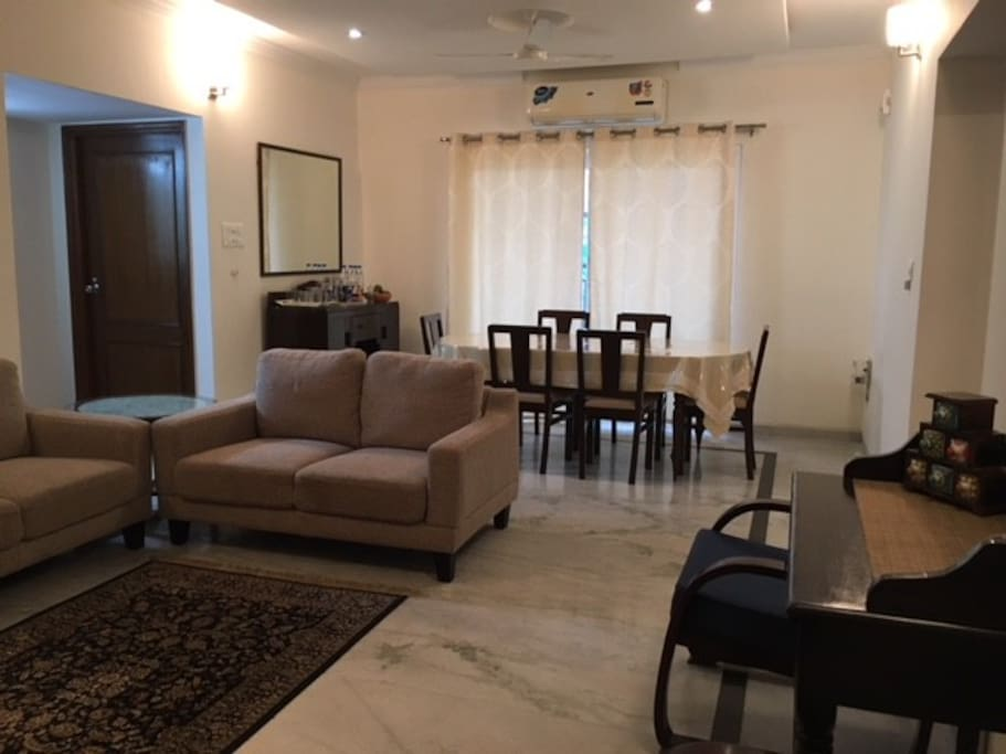 3 Bedroom Deluxe Apartment Kundanbagh Begumpet Apartments For Rent In Hyderabad Telangana India