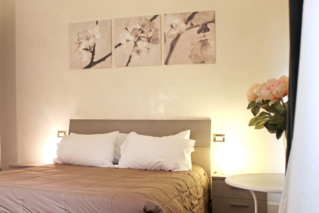 Camera con letto doppio o due singoli