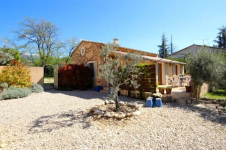 Provençal house with heated pool - Flassan