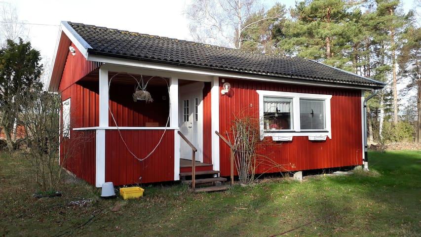 Fin stuga på mellersta, östra Öland