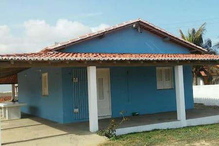 Casa para temporada próximo à Atalaia - Luís Correia - Huis