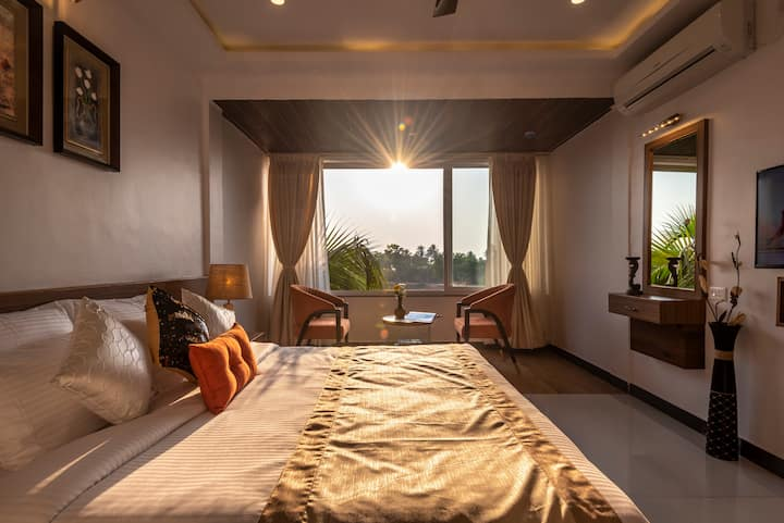 Luxurious Premium Room With Pool Near Colva Beach