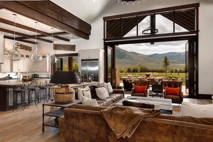 Abode at Twilight Ranch | One of a Kind Mountain Home on Spectacular Estate!