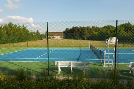 Lodge de la Sapinière, piscine, pêche, tennis - Fontaines-en-Sologne