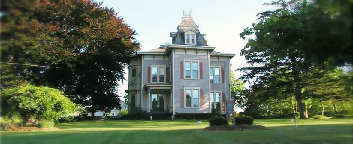 Large Victorian Home on Five Acres