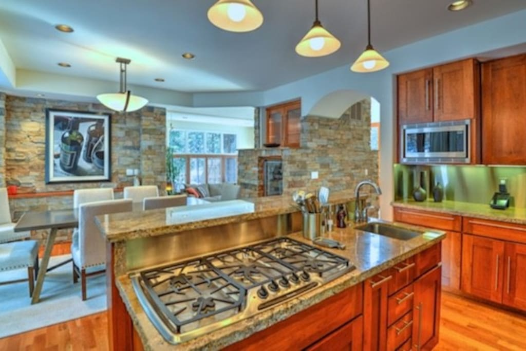 Gourmet, Perfectly Stocked Kitchen