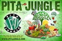 Pita Jungle Restaurant for healthy eaters, 10 minutes away