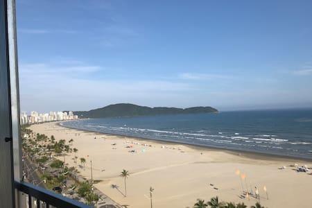 APTO. FRENTE P/ MAR - Guilhermina - Praia Gde