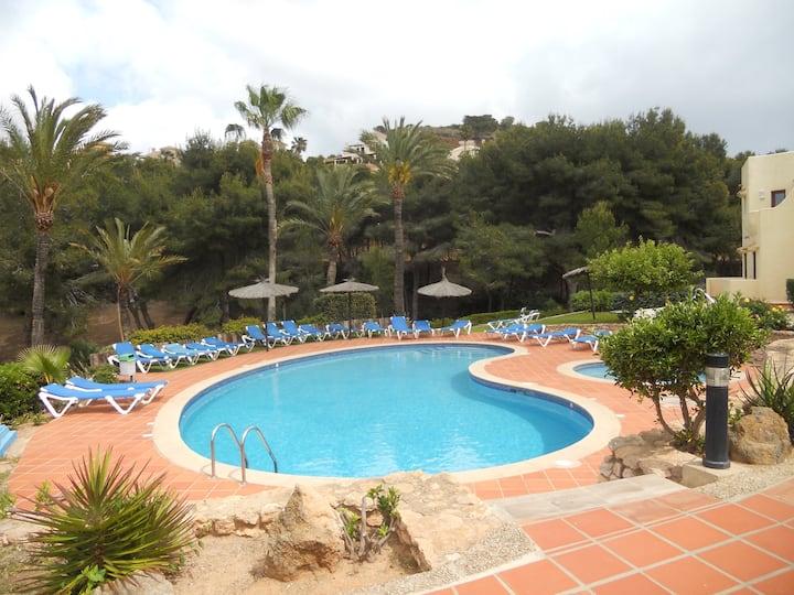 El Rancho Villa in La Manga Club with great views