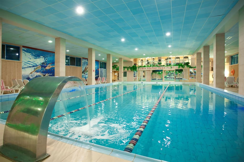 Hotel facilities - swimming pool available for very attractive rates.