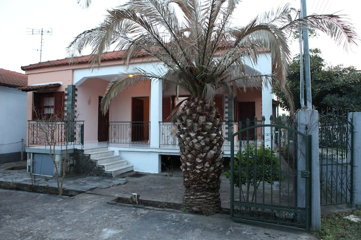 Voulas Private House 500m from the beach - Asprovalta - Huis