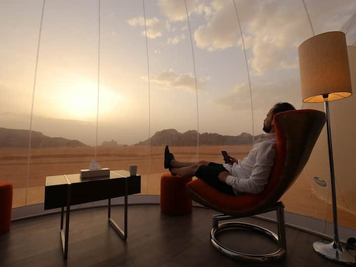 Bubble Suite Twin - Bubble Luxotel Wadi Rum