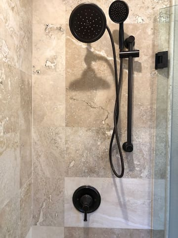 Shower and Hand Wand Style Shower Head