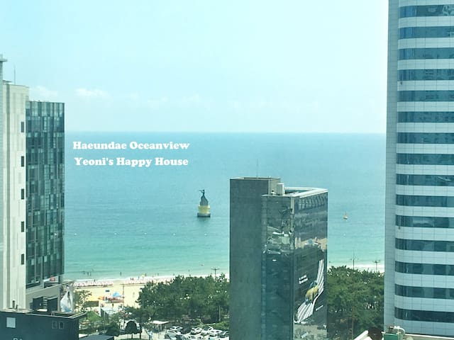 New!! Yeoni's Happy House with Haeundae OceanView