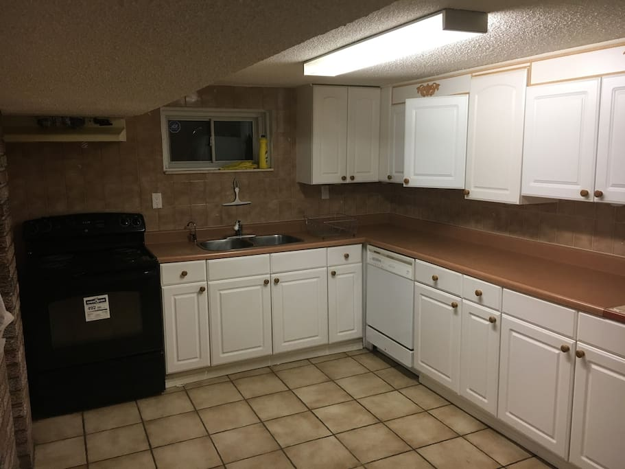 Large fully functional kitchen