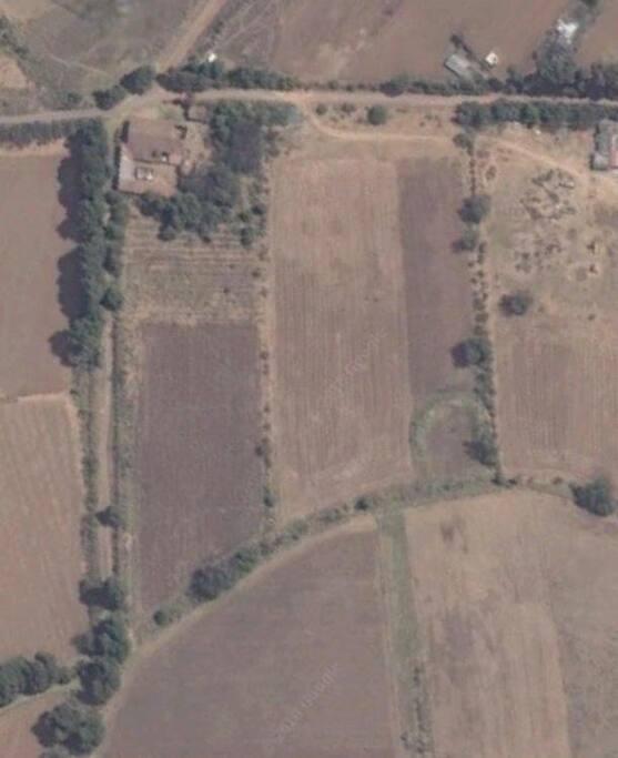 Foto satelital de la casa