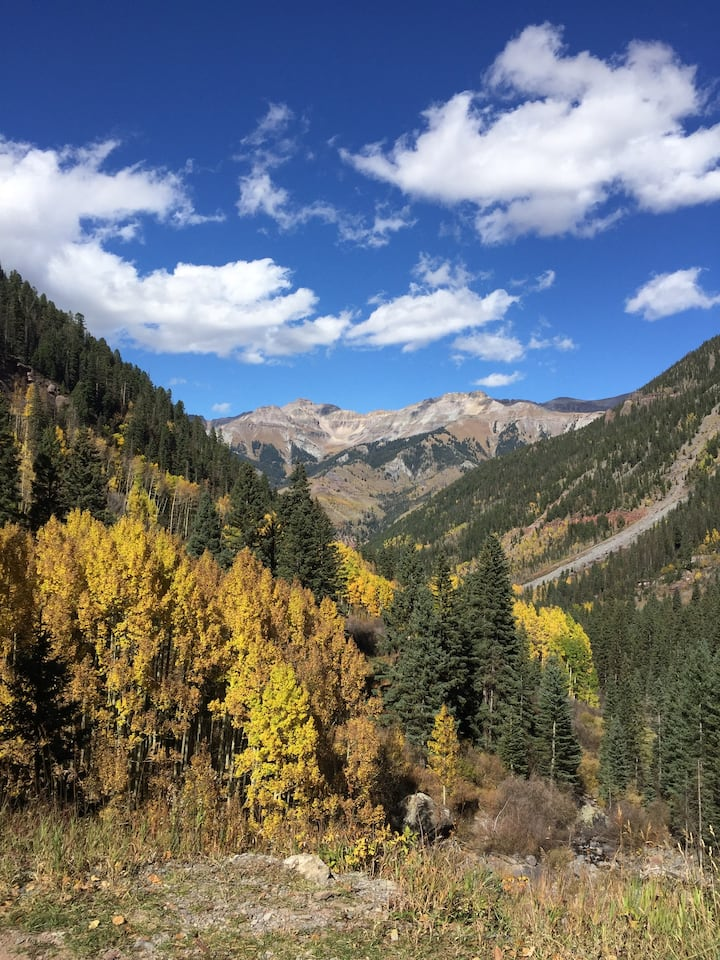 Excellent location on the River in Telluride
