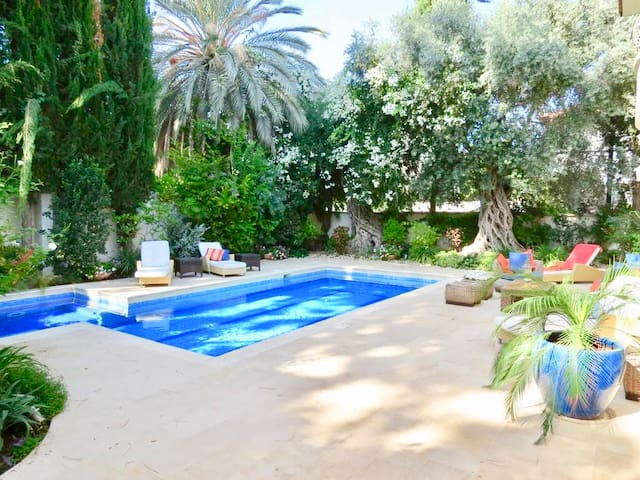 Luxury villa with pool in Herzlyia Pituach