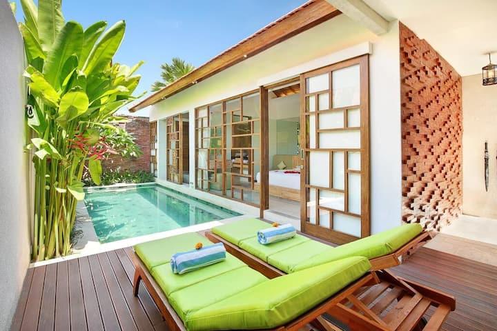 Romantic 01 Bedroom Pool Villa in Berawa Canggu