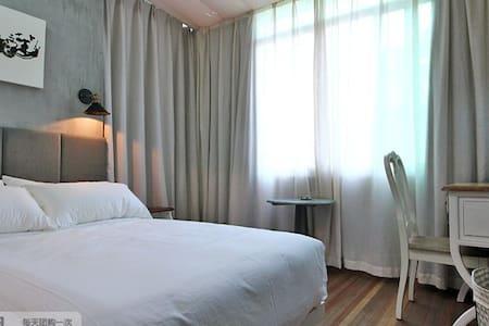 梦-柒号房,设计师设计,温馨独立的房间,近灵隐、北高峰 - Hangzhou - Villa