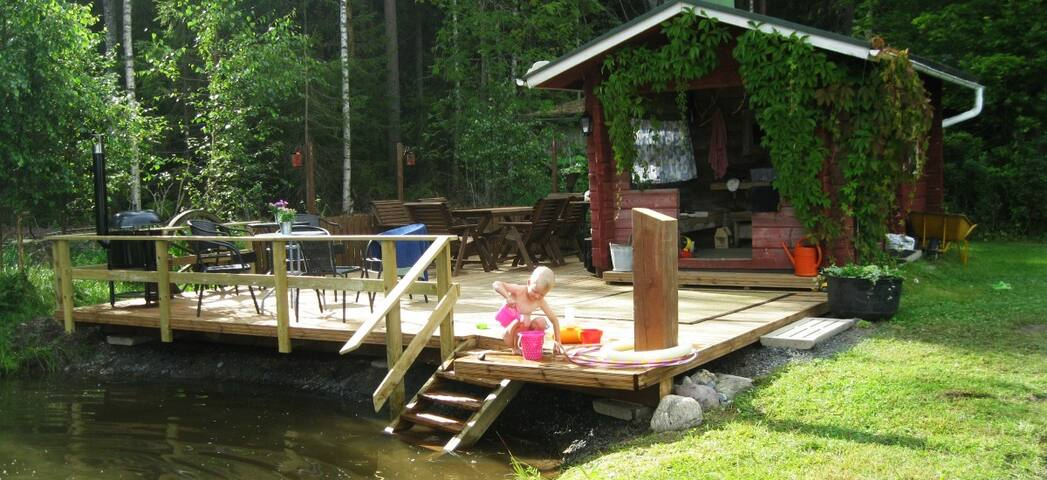 Holiday cottage Saarisuo farm in Southwest Finland