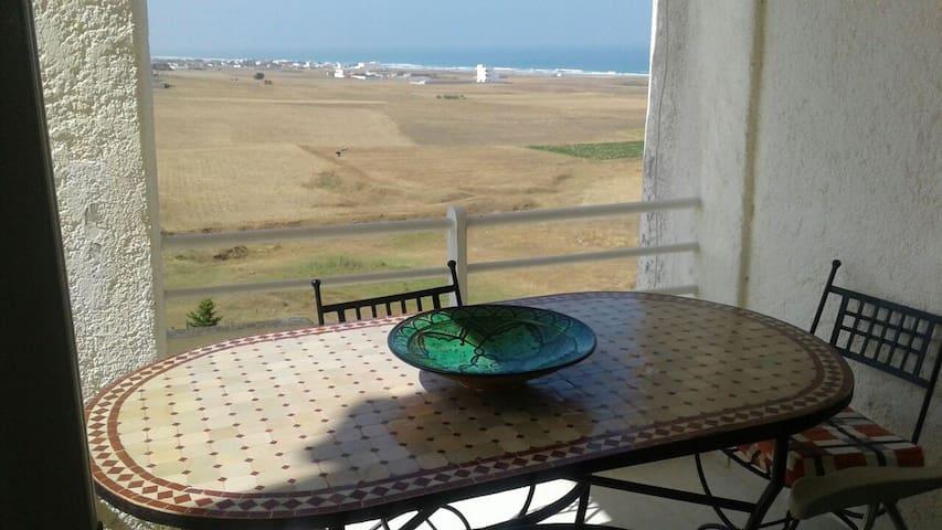 Vue Panoramique sur mer - Briyech - Lägenhet