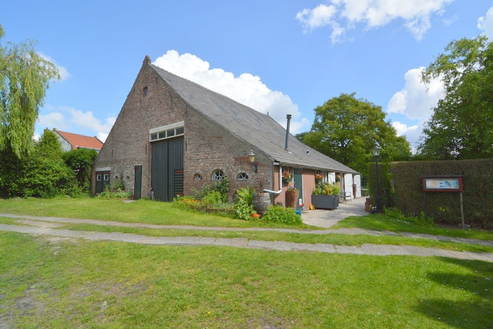 Gezellig vakantiehuis in Bergen op Zoom met een tuin