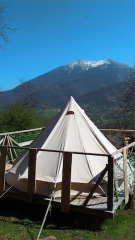 Tente Inuit dans les Pyrénées