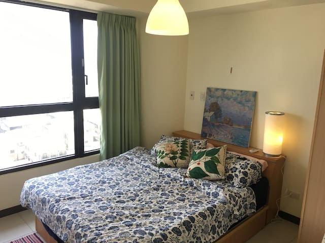 Private room, great view, beautiful new building. - North District - Apartamento